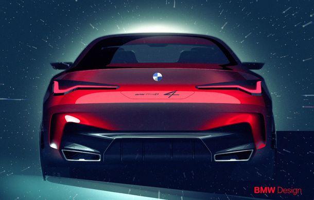 BMW a expus la Frankfurt noul Concept 4: prototipul constructorului german anticipează designul viitorului Seria 4 - Poza 31