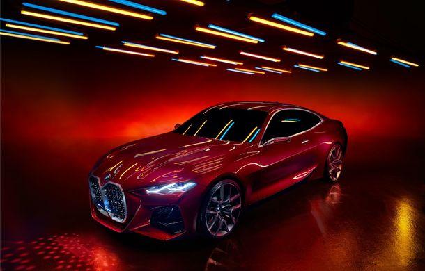 BMW a expus la Frankfurt noul Concept 4: prototipul constructorului german anticipează designul viitorului Seria 4 - Poza 21