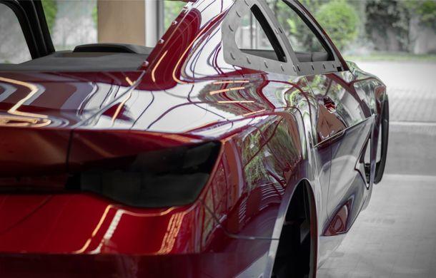 BMW a expus la Frankfurt noul Concept 4: prototipul constructorului german anticipează designul viitorului Seria 4 - Poza 39
