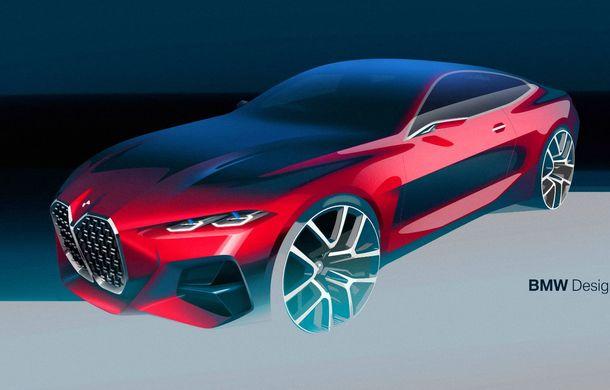 BMW a expus la Frankfurt noul Concept 4: prototipul constructorului german anticipează designul viitorului Seria 4 - Poza 22