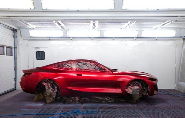 BMW a expus la Frankfurt noul Concept 4: prototipul constructorului german anticipează designul viitorului Seria 4 - Poza 11