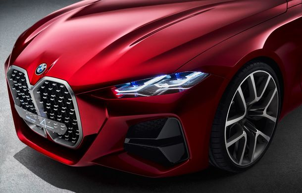 BMW a expus la Frankfurt noul Concept 4: prototipul constructorului german anticipează designul viitorului Seria 4 - Poza 8