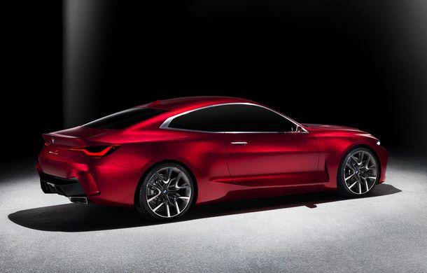 BMW a expus la Frankfurt noul Concept 4: prototipul constructorului german anticipează designul viitorului Seria 4 - Poza 4