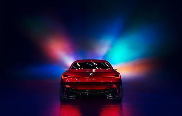 BMW a expus la Frankfurt noul Concept 4: prototipul constructorului german anticipează designul viitorului Seria 4 - Poza 7