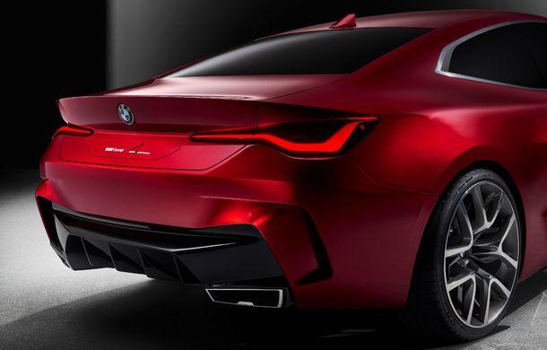 BMW a expus la Frankfurt noul Concept 4: prototipul constructorului german anticipează designul viitorului Seria 4 - Poza 9