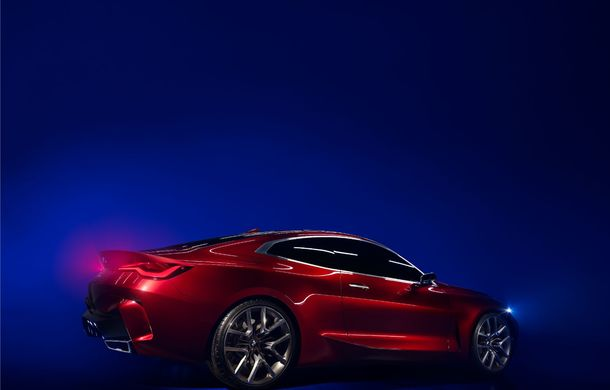 BMW a expus la Frankfurt noul Concept 4: prototipul constructorului german anticipează designul viitorului Seria 4 - Poza 12
