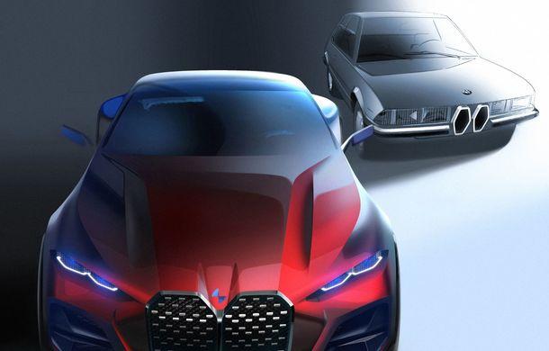 BMW a expus la Frankfurt noul Concept 4: prototipul constructorului german anticipează designul viitorului Seria 4 - Poza 28