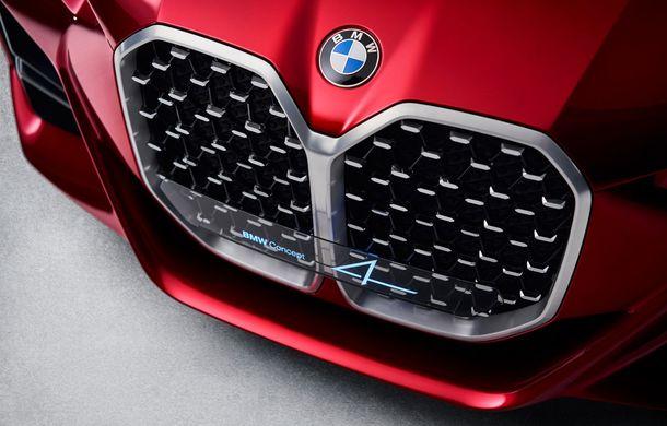 BMW a expus la Frankfurt noul Concept 4: prototipul constructorului german anticipează designul viitorului Seria 4 - Poza 10