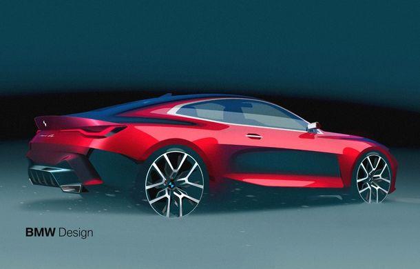 BMW a expus la Frankfurt noul Concept 4: prototipul constructorului german anticipează designul viitorului Seria 4 - Poza 24