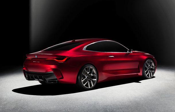 BMW a expus la Frankfurt noul Concept 4: prototipul constructorului german anticipează designul viitorului Seria 4 - Poza 3