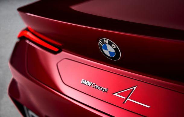 BMW a expus la Frankfurt noul Concept 4: prototipul constructorului german anticipează designul viitorului Seria 4 - Poza 30