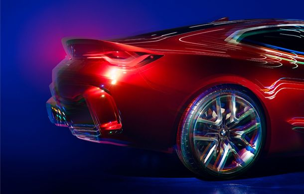 BMW a expus la Frankfurt noul Concept 4: prototipul constructorului german anticipează designul viitorului Seria 4 - Poza 27