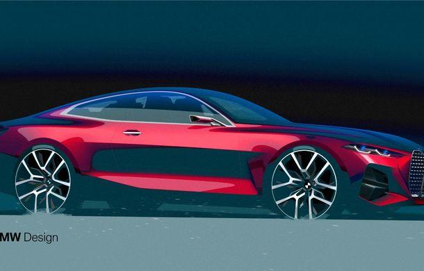 BMW a expus la Frankfurt noul Concept 4: prototipul constructorului german anticipează designul viitorului Seria 4 - Poza 23
