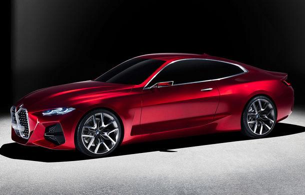 BMW a expus la Frankfurt noul Concept 4: prototipul constructorului german anticipează designul viitorului Seria 4 - Poza 1