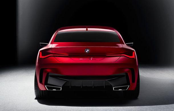 BMW a expus la Frankfurt noul Concept 4: prototipul constructorului german anticipează designul viitorului Seria 4 - Poza 6