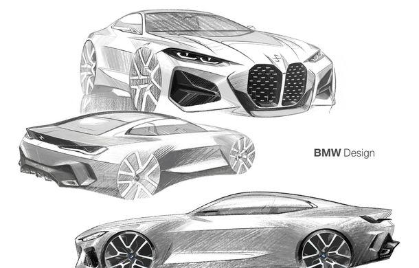 BMW a expus la Frankfurt noul Concept 4: prototipul constructorului german anticipează designul viitorului Seria 4 - Poza 35