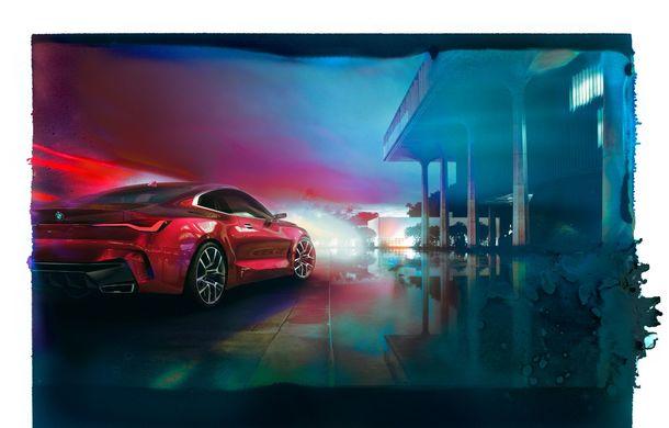 BMW a expus la Frankfurt noul Concept 4: prototipul constructorului german anticipează designul viitorului Seria 4 - Poza 18