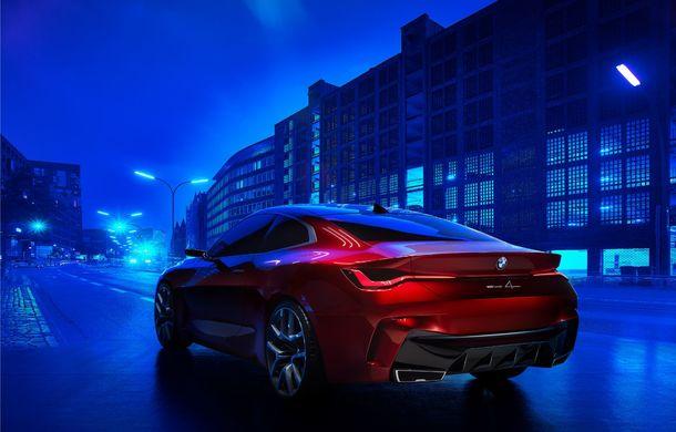 BMW a expus la Frankfurt noul Concept 4: prototipul constructorului german anticipează designul viitorului Seria 4 - Poza 13