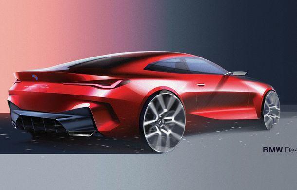 BMW a expus la Frankfurt noul Concept 4: prototipul constructorului german anticipează designul viitorului Seria 4 - Poza 26