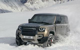 Noua generație Land Rover Defender este aici: motorizări diesel și pe benzină, versiune plug-in hybrid și tehnologii de ultimă generație