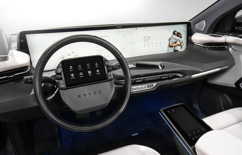 Chinezii de la Byton prezintă versiunea de serie a SUV-ului electric M-Byte: ecran de 48 inch și autonomie de până la 435 de kilometri - Poza 17