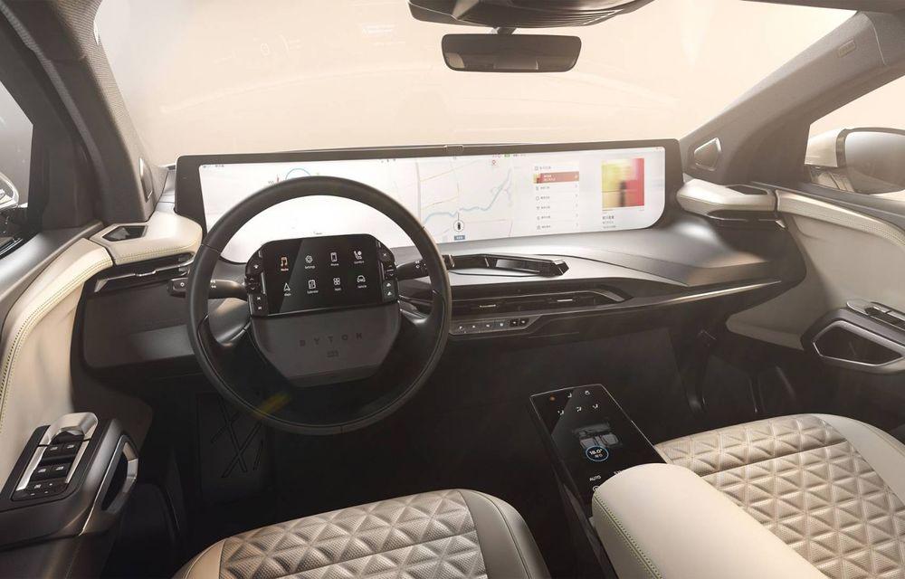 Chinezii de la Byton prezintă versiunea de serie a SUV-ului electric M-Byte: ecran de 48 inch și autonomie de până la 435 de kilometri - Poza 19