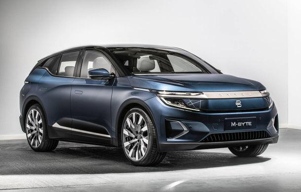 Chinezii de la Byton prezintă versiunea de serie a SUV-ului electric M-Byte: ecran de 48 inch și autonomie de până la 435 de kilometri - Poza 1