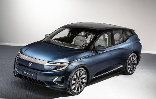Chinezii de la Byton prezintă versiunea de serie a SUV-ului electric M-Byte: ecran de 48 inch și autonomie de până la 435 de kilometri - Poza 13