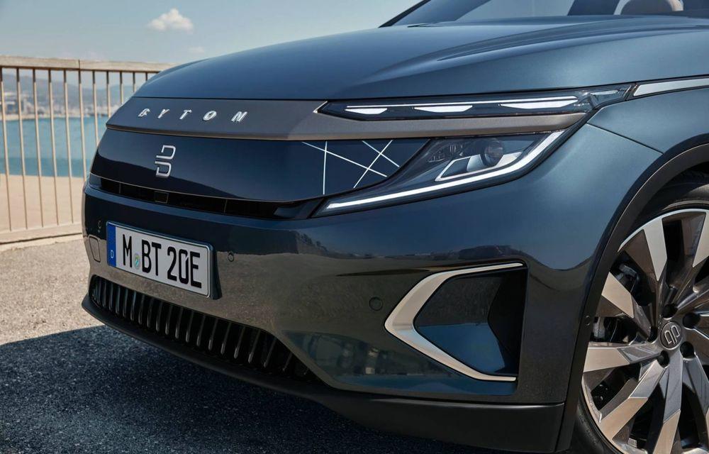 Chinezii de la Byton prezintă versiunea de serie a SUV-ului electric M-Byte: ecran de 48 inch și autonomie de până la 435 de kilometri - Poza 9