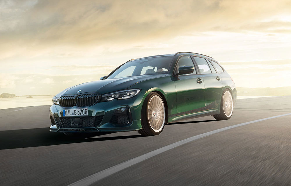 Alpina B3 Touring a fost prezentat la Frankfurt: motor de 3.0 litri cu 462 CP și viteză maximă de peste 300 km/h - Poza 1