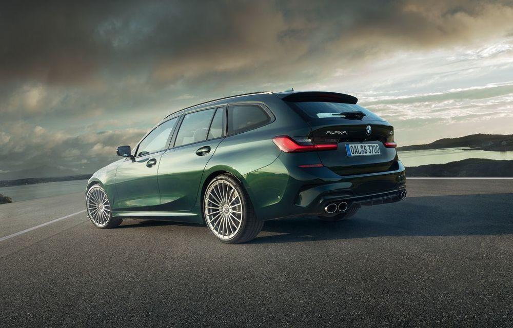 Alpina B3 Touring a fost prezentat la Frankfurt: motor de 3.0 litri cu 462 CP și viteză maximă de peste 300 km/h - Poza 5