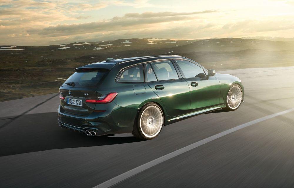 Alpina B3 Touring a fost prezentat la Frankfurt: motor de 3.0 litri cu 462 CP și viteză maximă de peste 300 km/h - Poza 4
