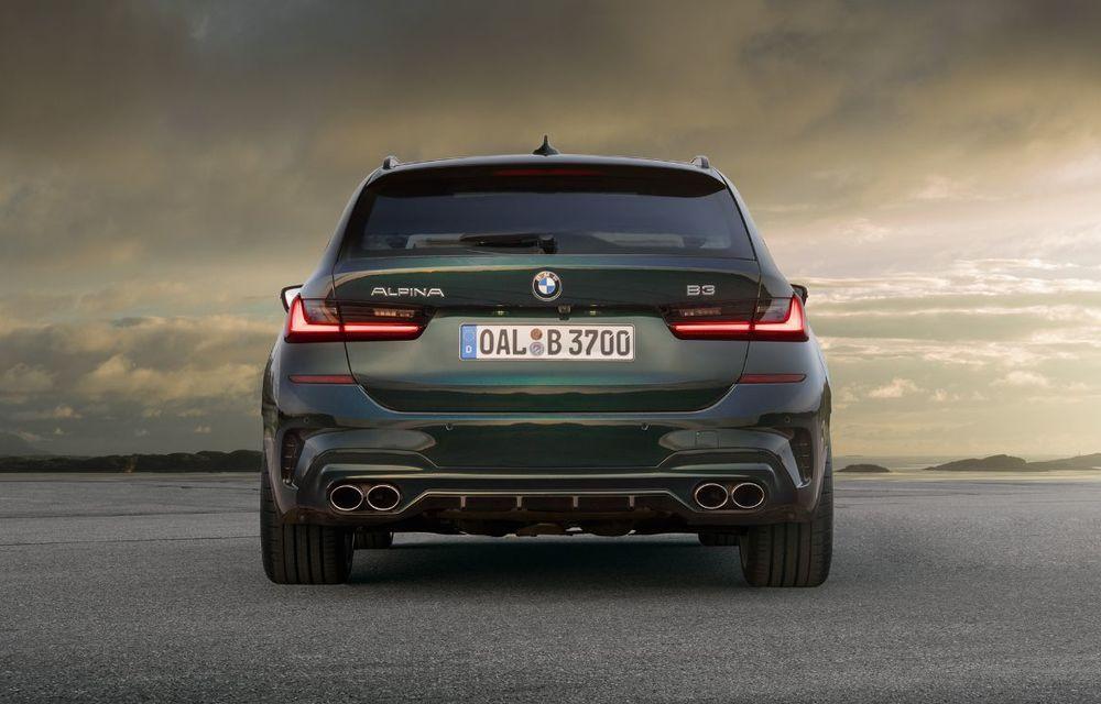 Alpina B3 Touring a fost prezentat la Frankfurt: motor de 3.0 litri cu 462 CP și viteză maximă de peste 300 km/h - Poza 6