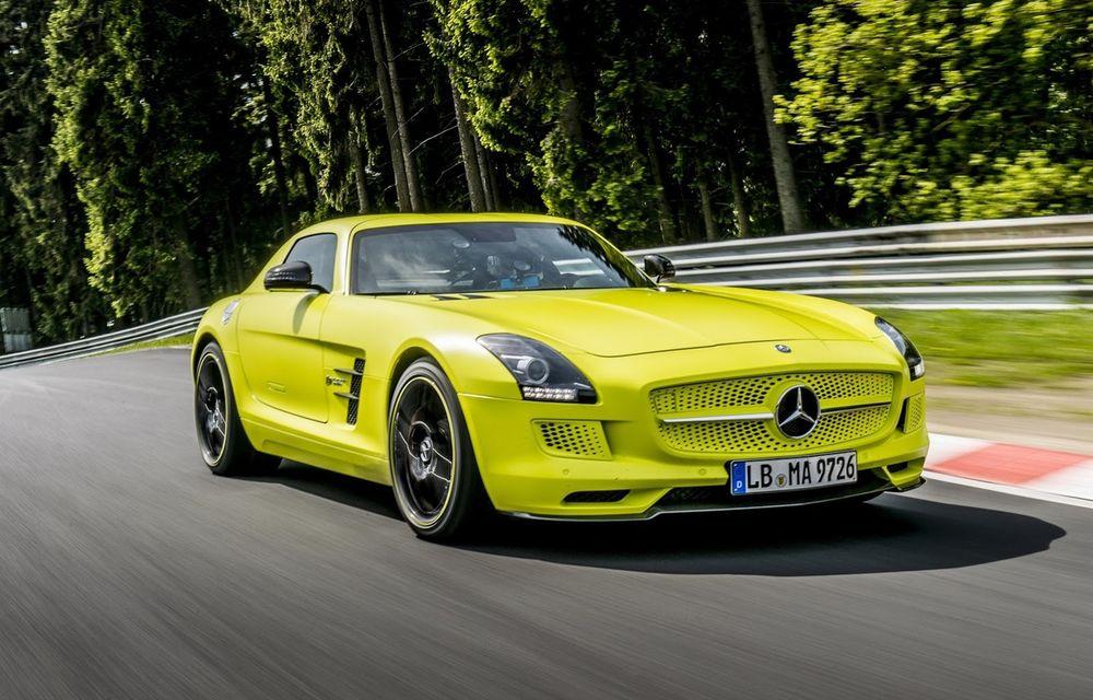 Electrificare în gama Mercedes-AMG: nemții pregătesc un model de performanță 100% electric - Poza 1