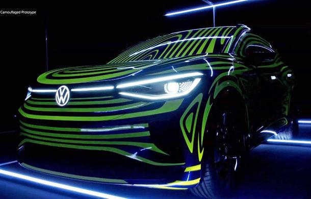 Primele teasere pentru Volkswagen ID.4: SUV-ul electric are la bază conceptul ID Crozz și va fi lansat în 2020 - Poza 2