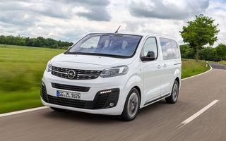Planurile Opel pentru viitorul apropiat: versiuni electrice pentru Vivaro, Combo și Zafira Life