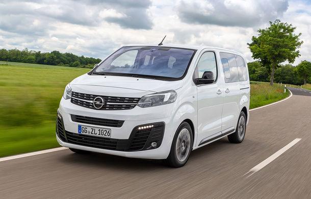 Planurile Opel pentru viitorul apropiat: versiuni electrice pentru Vivaro, Combo și Zafira Life - Poza 1