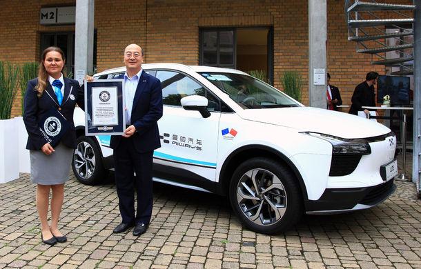 Record mondial pentru cel mai lung drum parcurs de o mașină electrică: 15.000 de kilometri din China până în Germania - Poza 1
