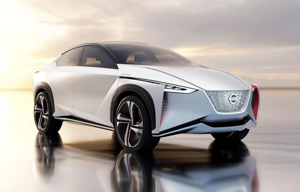 Nissan va lansa un SUV electric în octombrie: modelul ar putea fi bazat pe conceptul IMx - Poza 1
