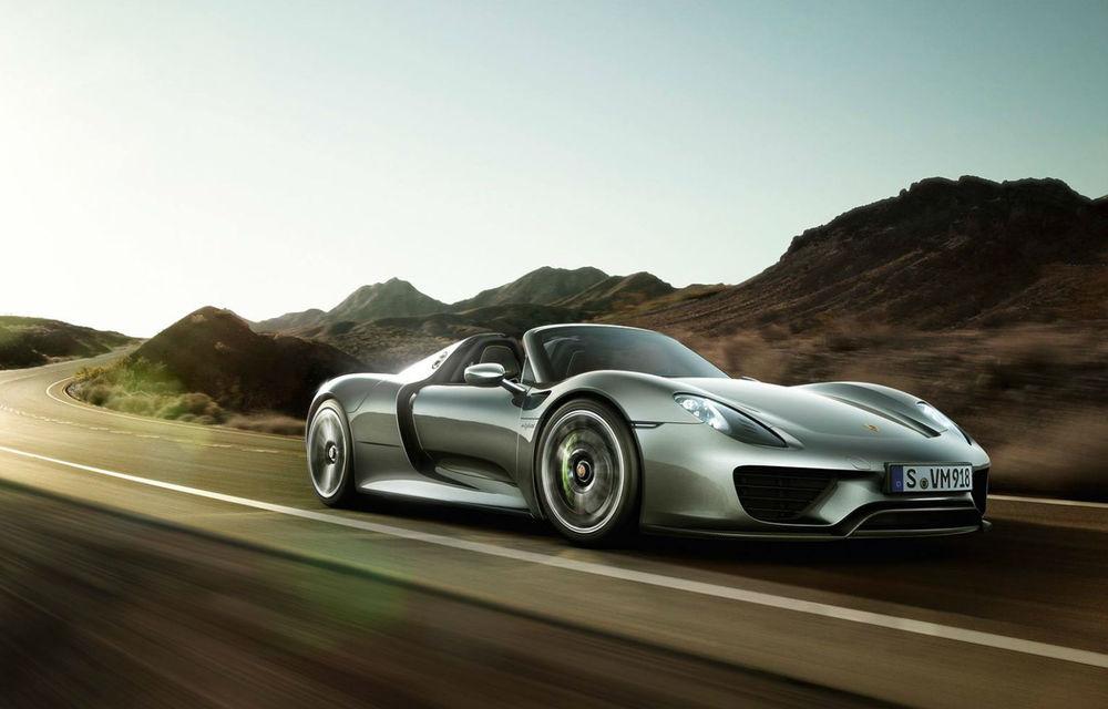 """Porsche nu exclude un succesor pentru 918 Spyder: """"Hypercar-urile sunt importante pentru companie, dar trebuie să aducă beneficii în gama curentă de modele"""" - Poza 1"""