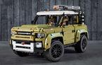 Noul Land Rover Defender este oferit și în versiune Lego: pachetul conține 2.573 de piese și va fi disponibil din 1 octombrie