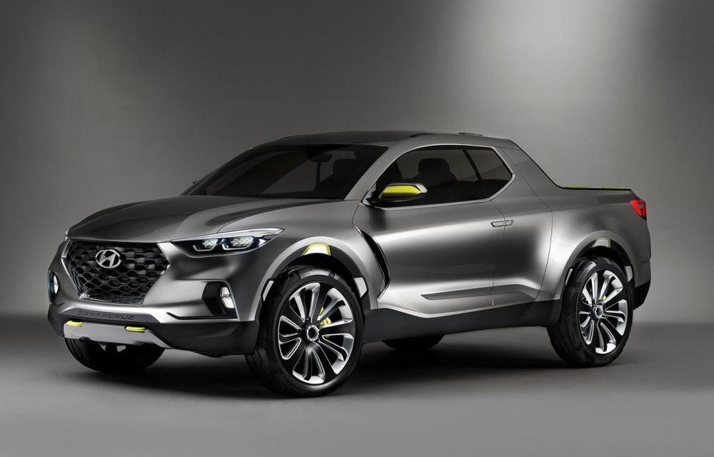 Atac la Ford Ranger Raptor: viitorul pick-up pregătit de Hyundai ar putea avea o versiune de performanță N - Poza 1