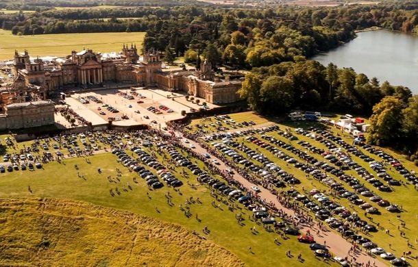 Record pentru Bentley: 1.321 de mașini au participat la o întâlnire a proprietarilor în Marea Britanie - Poza 3