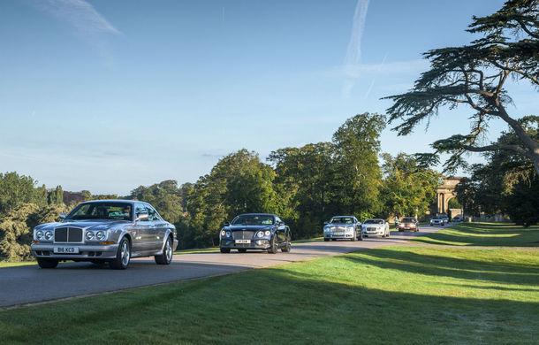 Record pentru Bentley: 1.321 de mașini au participat la o întâlnire a proprietarilor în Marea Britanie - Poza 1