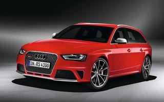 Noua generație Audi RS4 Avant va avea versiune plug-in hybrid: lansare programată după 2020