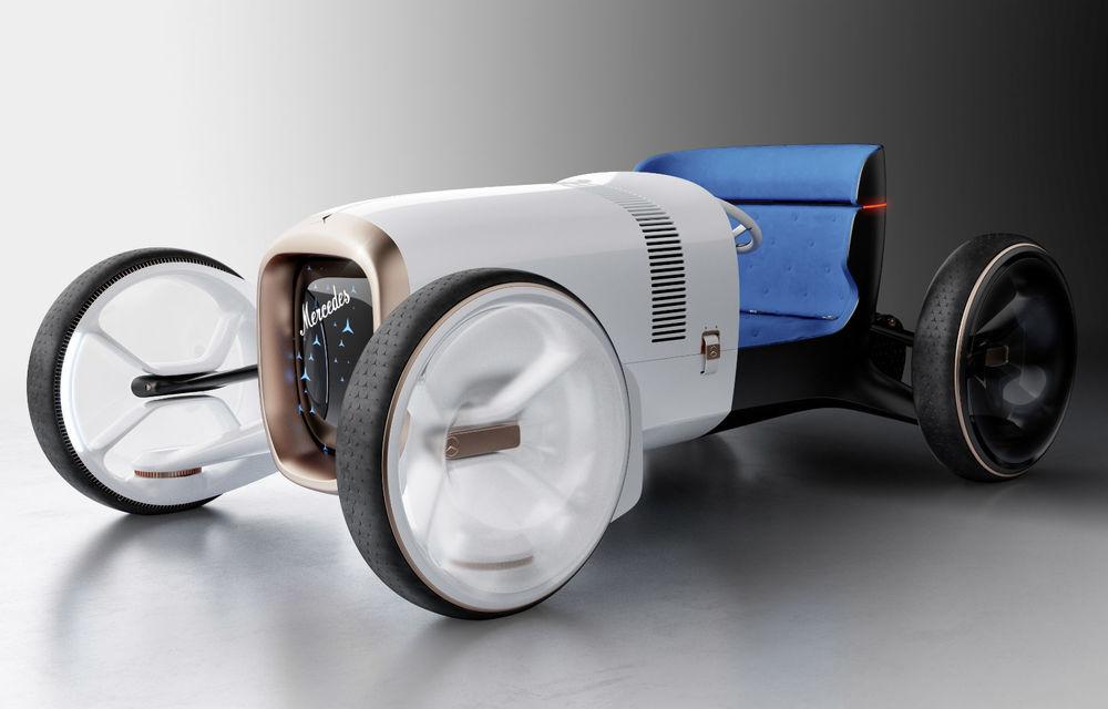 Mercedes prezintă conceptul Vision Simplex: nemții anunță tranziția către o nouă eră de design și tehnologie - Poza 1