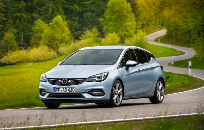 Test drive Opel Astra facelift