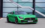 Video. Viitorul Mercedes-AMG GT Black Series, spionat la Nurburgring: modelul de performanță va oferi circa 700 CP și va fi lansat în 2020
