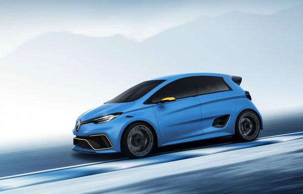 Renault nu exclude posibilitatea lansării unui model electric de performanță: conceptul Zoe e-Sport cu 460 CP a deschis apetitul fanilor - Poza 1