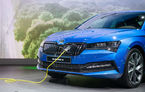 Skoda lansează brandul iV pentru viitoarele modele electrificate: 10 modele noi până în 2022